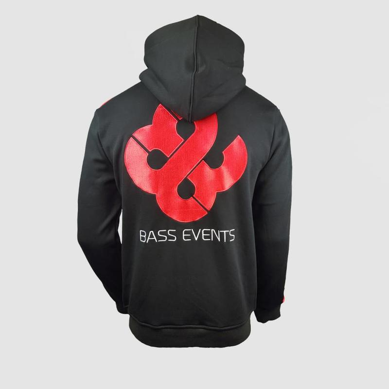 Bass Events - Official Zipped Hoody