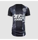 Dirty Workz - Soccer Shirt Black/ Army Grey