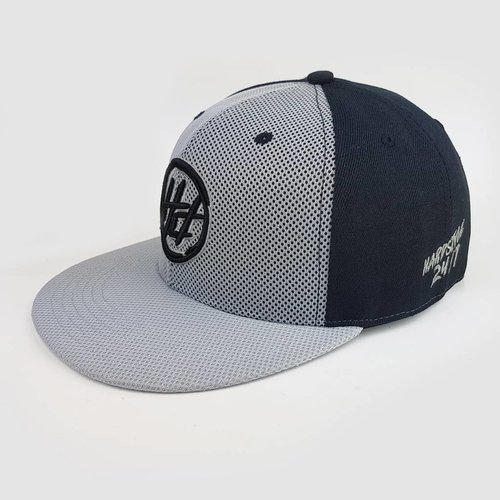 Hard Driver - Black & Grey Mesh Snapback