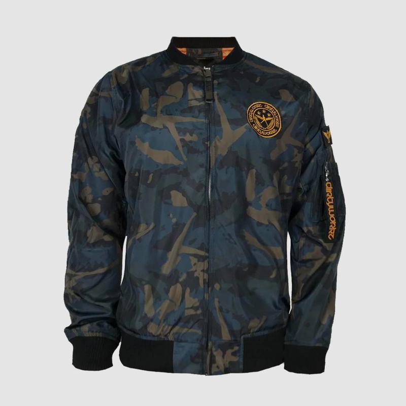 Dirty Workz - Military Bomber Jacket