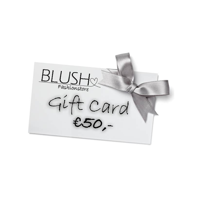Blush Giftcard 50,- - Giftcards