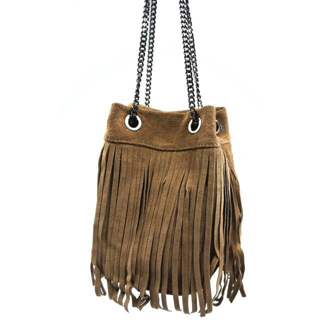 Boho Bag Camel - Tassen