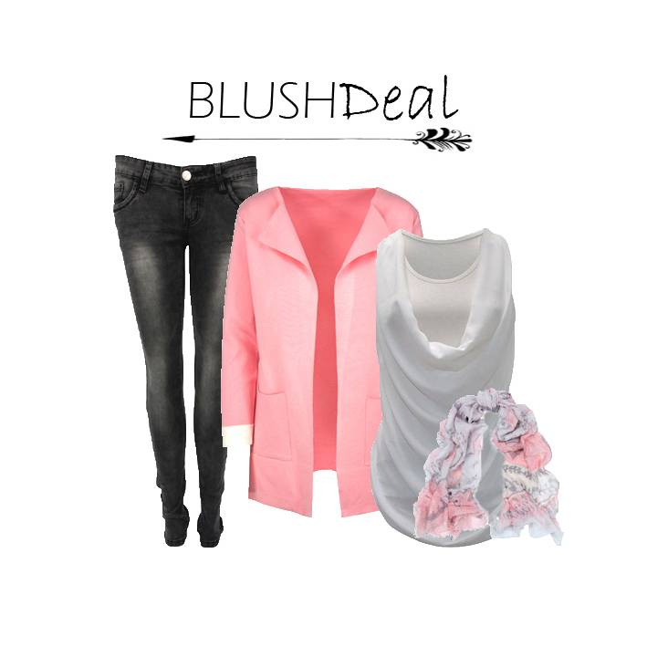 Blush Deal Pink And Grey