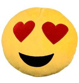 "Smiley Kissen ""Verliebt"""