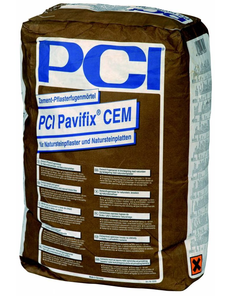 pci pavifix cem 25 kg sack grau zement. Black Bedroom Furniture Sets. Home Design Ideas