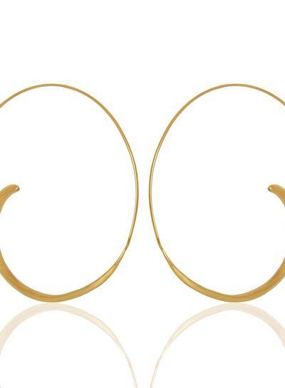 special open hoop earring marissa eykenloof