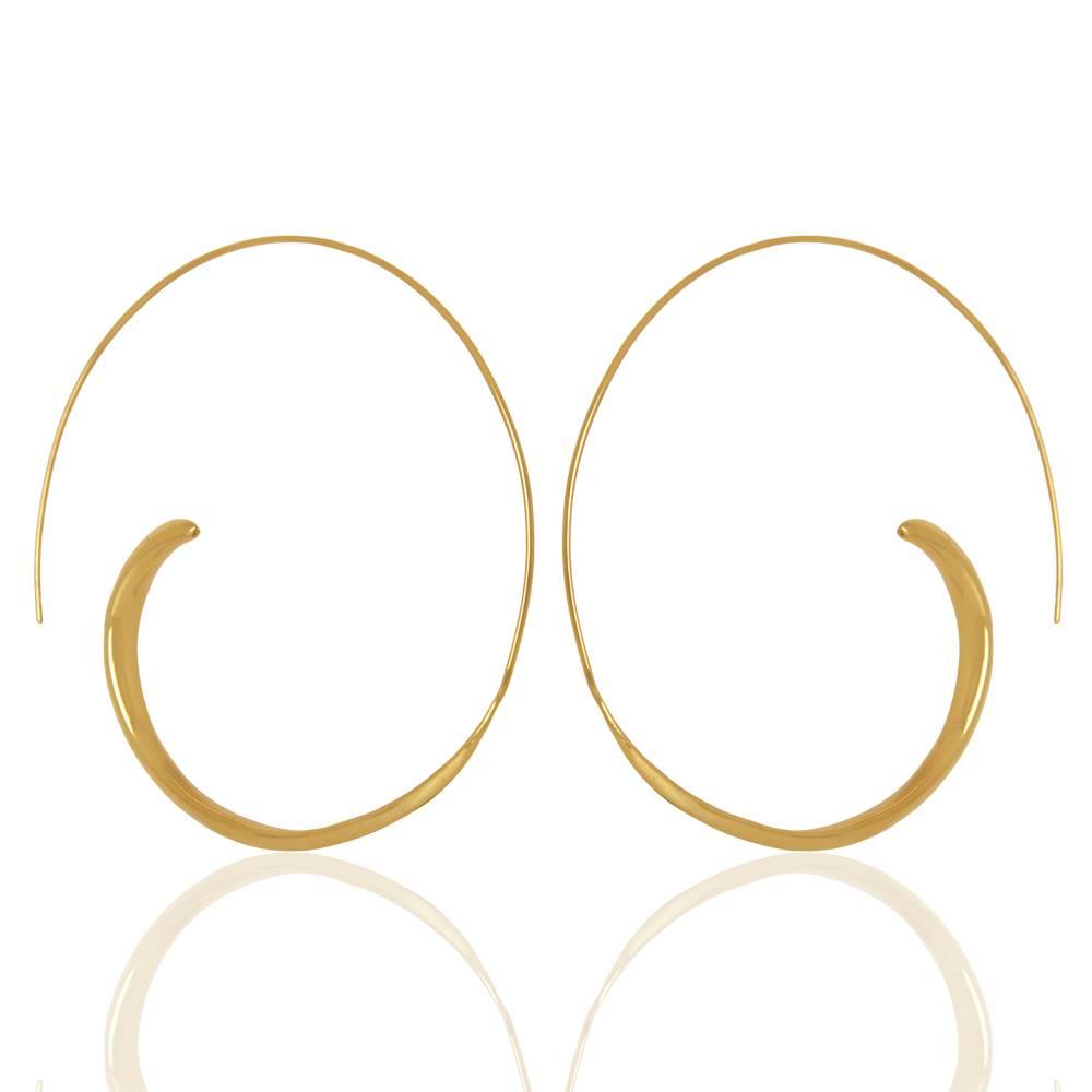 Marissa Eykenloof Special Open Hoop Earring