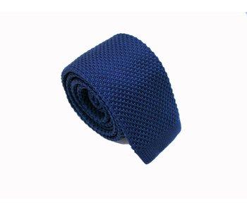 Strickkrawatte Blue