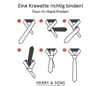 Krawatte richtig binden!
