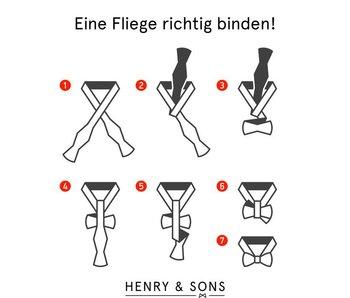 Fliege/Querbinder richtig binden!