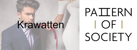 Pattern of Society Krawatten