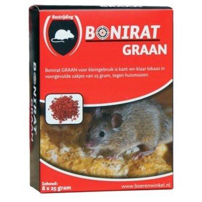 Bonirat graan muis (8x25g)