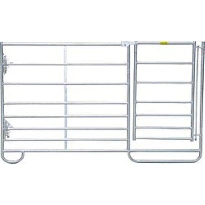 Minipaneel met poort 1,83 m
