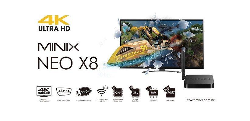 Minix Neo X8 en X8-H