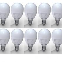 LED box Ball A45 milky - 10 stuks - 5W 3000K 430 lumen