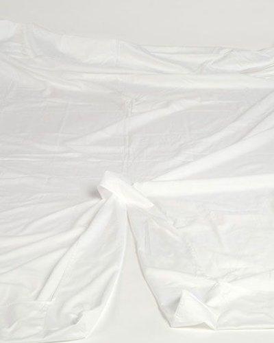 Split Topper Hoeslaken Katoen Satijn.Yumeko Split Topper Hoeslaken Katoensatijn Pure White