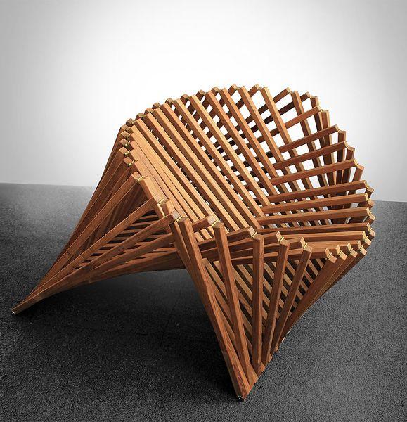 Robert van embricqs rising chair ontworpen door robert van for Robert van embricqs chair