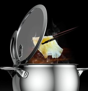 SKK kookpan met glazen deksel