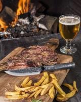 Style de Vie Authentique Steakmessen 4 stuks XXL Forged Brute