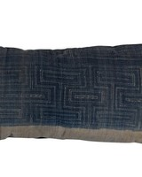 Kussen Vintage blue fabric