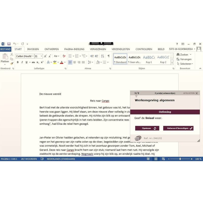 Word ELEARNING TRAINING WORD 2010 EXPERT CURSUS ONLINE
