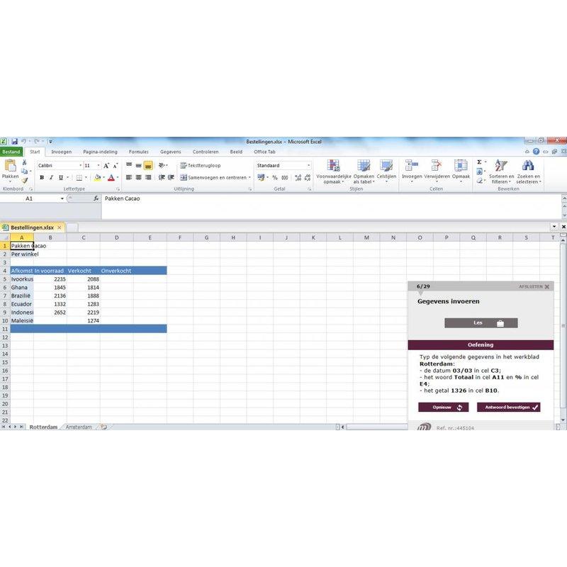 Excel Certificeringspakket MOS Excel 2016 Expert (77-728)