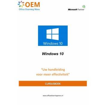 Windows Cursusboek Windows 10