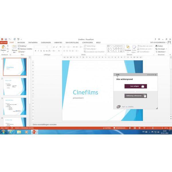 PowerPoint ELEARNING CURSUS POWERPOINT 2016 MAATWERK ONLINE