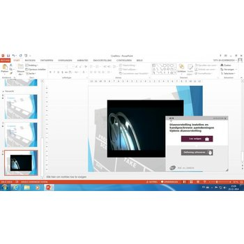 PowerPoint E-learning + Boek PowerPoint 2016 Basis Gevorderd Expert