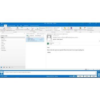Gmetrix Gmetrix MOS 77-731 Outlook 2016 proefexamen
