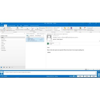 Outlook Gmetrix MOS 77-731 Outlook 2016 proefexamen