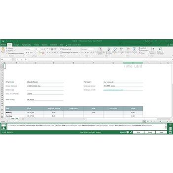 Gmetrix Gmetrix MOS 77-727 Excel 2016 proefexamen