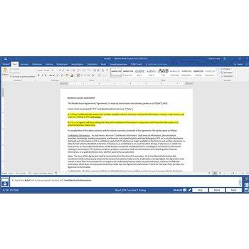 Word Gmetrix MOS 77-725 Word 2016 proefexamen
