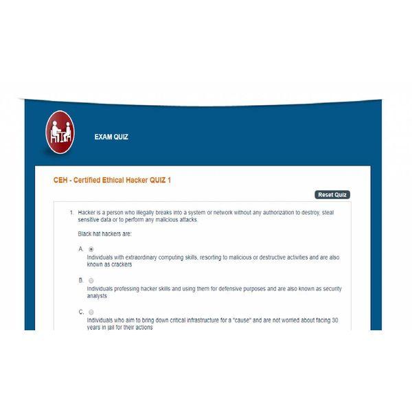 Online training CERTIFIED ETHICAL HACKER (CEH)v9