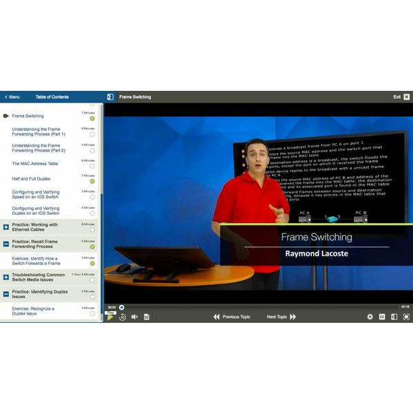 Online training CISCO 300-115: Implementing Cisco IP Switched Networks (SWITCH v. 2.0)