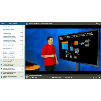 E-learning CISCO 300-135: Troubleshooting and Maintanining Cisco IP Networks (TSHOOT)