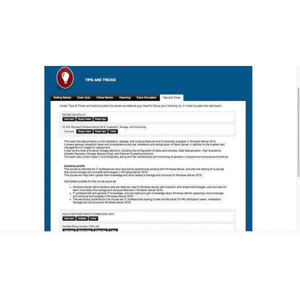 Online training 70-342: Advanced Solutions of Microsoft Exchange Server