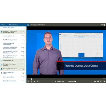 Online training 70-347: Enabling Office 365 Services