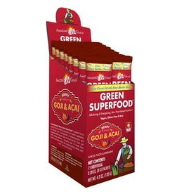 Amazing Grass Berry goji acai green superfood 15 sachets