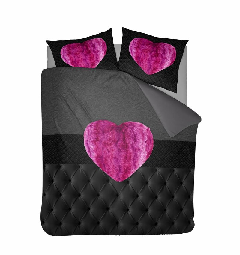 Nightlife Concept Bettwäsche Fur Heart Fuchsia Rosa