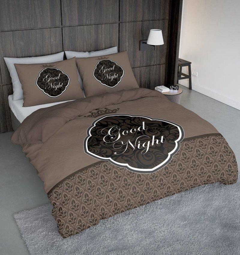 Nightlife Concept Bettwäsche Goodnight Barok Braun