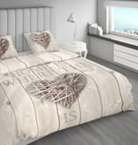 Nightlife Bettwäsche Home Is Wood Braun