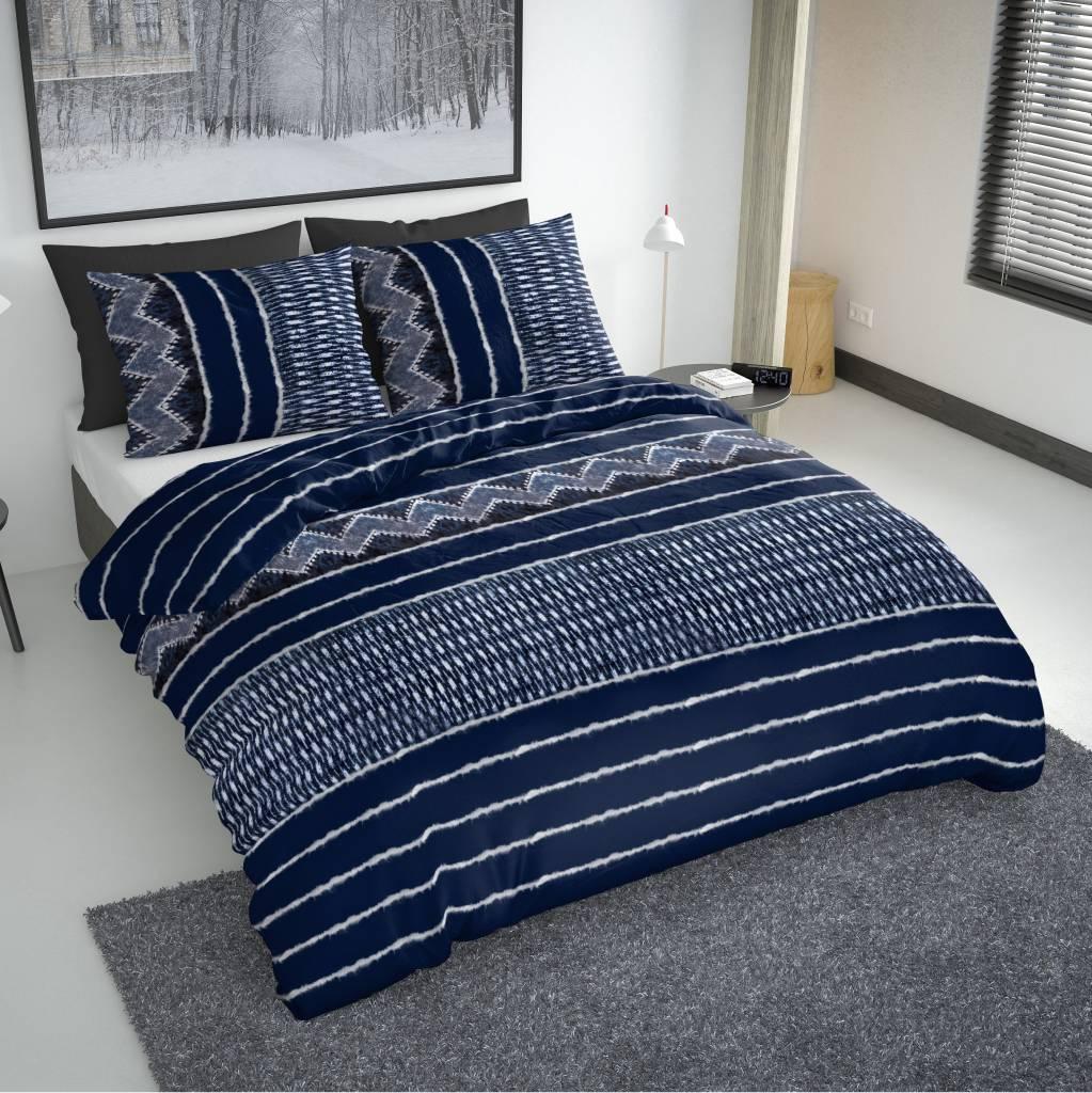 bettw sche indigo blau nightlifeliving. Black Bedroom Furniture Sets. Home Design Ideas