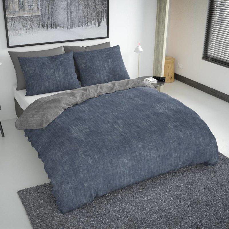 Nightlife Fresh Bettwäsche Washcotton Blau Grau