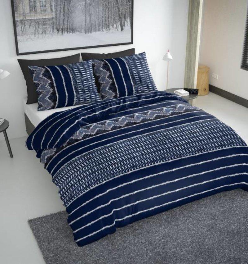 Nightlife Fresh Bettwäsche Indigo Blau Flanell