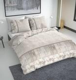 Nightlife Fresh Bettwäsche Fur On Wood Beige Flanell