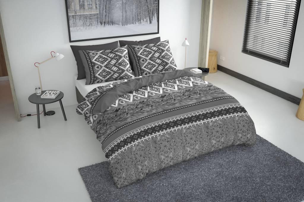bettw sche bohemian grau flanell nightlifeliving. Black Bedroom Furniture Sets. Home Design Ideas