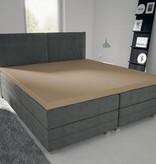 Nightlife Jersey Topper Bettlaken / Spannbetttuch 150 gramm Braun