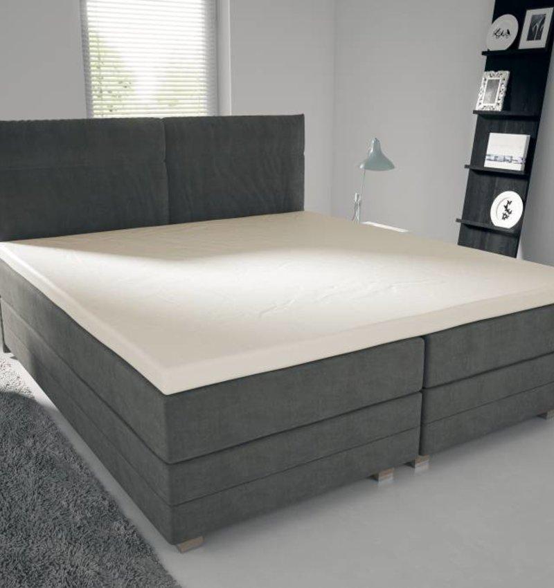 Nightlife Jersey Topper Bettlaken / Spannbetttuch 150 gramm Ecru