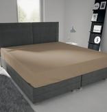 Nightlife Jersey Bettlaken / Spannbetttuch 150 gramm  Braun